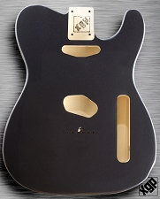 XGP Professional Tele® Body Gunmetal Grey Metallic