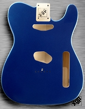 XGP Professional Tele Body 1963 Lake Placid Blue