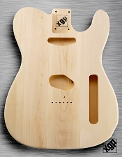 XGP Professional Tele Body Unfinished White Poplar