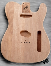 XGP Professional Tele® Body Unfinished Solid Mahogany