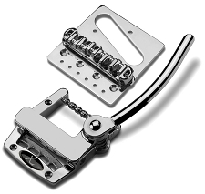 Xtrem Top Mounte Vibrato, Roller Bridge Combo- Chrome Finish
