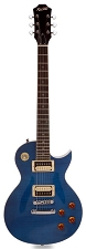 XV-500 Carved Top Flamed maple Ocean Blue Transparent Finish