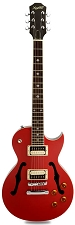 XV-550 Semi Hollowbody Two Tone Rocket Red/Black