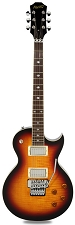 NEW! XV555 Double Locking Tremolo Carved Top LP Vintage Sunburst Flame