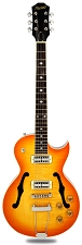 XV-570 Rockabilly Semi-Hollowbody Minitrons FLamed Maple Lemon Drop
