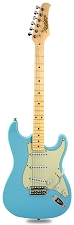 CLEARANCE!  XV-870 Daphne Blue, Vintage Hardware,  Maple Fingerboard