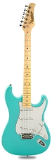 CLEARANCE! XV-870 Seafoam Green, Vintage Hardware,  Maple Fingerboard