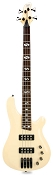 DLX Bass Active Preamp, Carved Body,  24 Fret Ivory