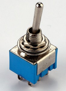 DPDT ON-ON Two Position Min Toggle Switch