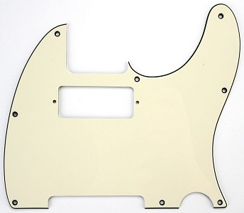Pickguard cut for neck Mini Humbucker