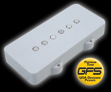 GFS JM90 OVERWOUND Hot Jazzmaster Pickup WHITE - Neck