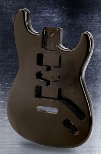 Lightweight Vintage Stratocaster Style Body Gloss Black