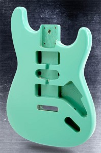 Stratocaster Style Body HSH Lightweight paulownia Surf Green