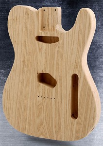 Unfinished Telecaster® Style Body SOLID American ASH