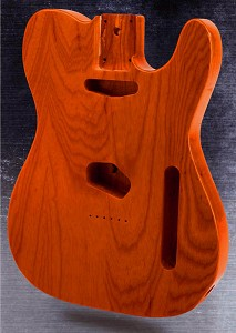 Telecaster® Style Body SOLID American ASH