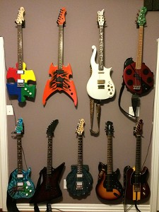 By Quintin S -- Custom Guitars (All with GFS Pickups)