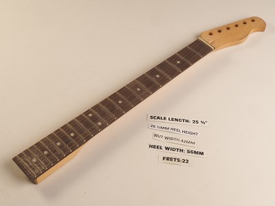 Single Cutaway Style Rosewood 22 Fret Neck