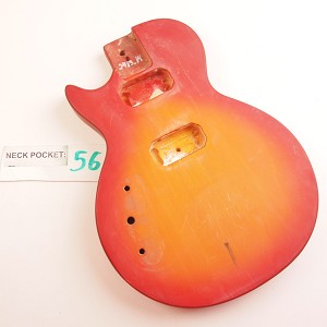 "Finished, Cherry Burst, ""LP Special Style"" Body, HH - LEFTY"