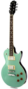 NEW DESIGN! XV-500 Two Tone Surf Green/Black Chrome Crunchy Pats