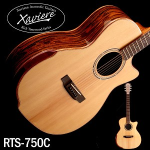 Laurel Negro Xaviere ALL WOOD Premium Cutaway Solid Spruce Top