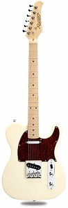 XV-820 Solid Poplar body Vintage Cream Maple Fingerboard