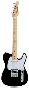 XV-820 Gloss Black Maple Fingerboard