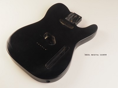 Lightweight Vintage Telecaster® Style Body Gloss Black - Blemished