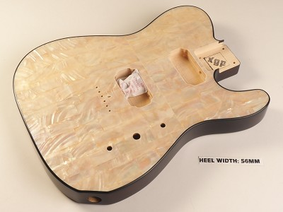 Blem - XGP REAL PEARL SHELL Single-Cutaway Style Body 2 Humbuckers