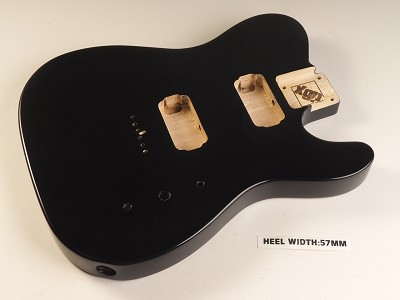 Blem - XGP Professional Single-Cutaway Body 2 Humbuckers Gloss Black