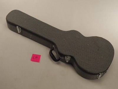"BLEM - Cloth ""1969 RS Camaro"" Houndstooth Hard Shell Case for Les Paul,  XV-500, XV-700"