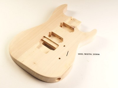 BLEM - Lightweight DINKY Double-Cutaway Poplar Body- SPECIAL PURCHASE!