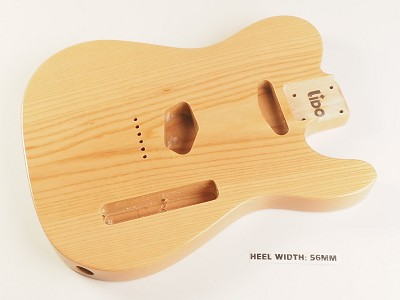 BLEM - Lido TE Single cutaway Body Solid ASH Clear Gloss