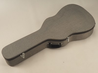 "BLEM - PREMIUM Cloth ""1969 Camaro RS Houndstooth""Case fits Dreadnaught- OUR BEST!"
