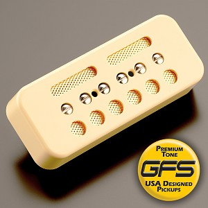 KP - GFS Gold Foil Single Coil Ferrite Soapbar, Cream - Kwikplug™ Ready