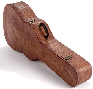 "PREMIUM Red ""Tan Hornback"" Hardshell Case fits Dreadnaught PLUSh- OUR BEST!"