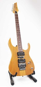 Ash Double Cutaway Electric Guitar - With Floyd Rose Tremolo and Arm