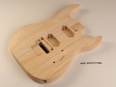 Lightweight DINKY Double-Cutaway Basswood Body- SPECIAL PURCHASE!