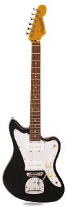 PRO-JT100 Offset Alder Body Alnico JM90 Pickups Gloss Black