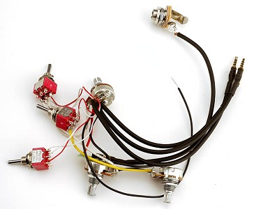 "Kwikplug ""MINI"" Harness - Superstrat Humbucker Kit"