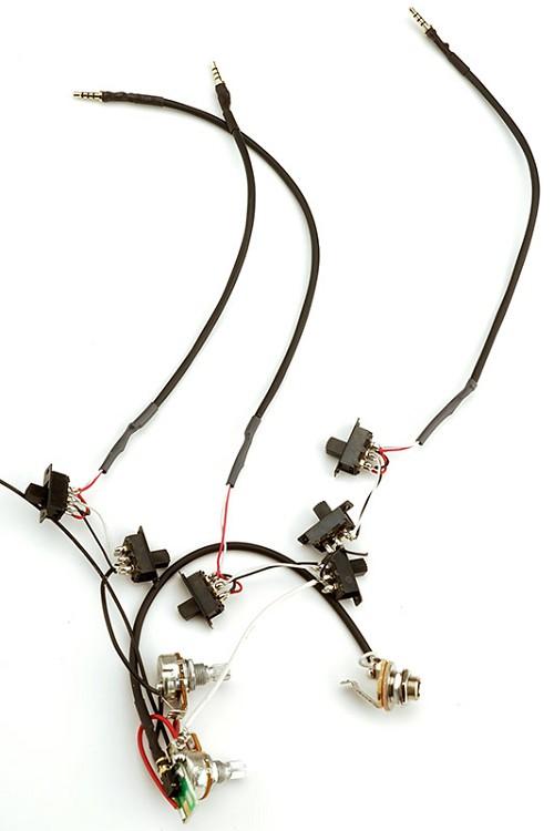Groovy Kwikplug Mini Harness Brian May Kit 250K Wiring Cloud Hisonuggs Outletorg