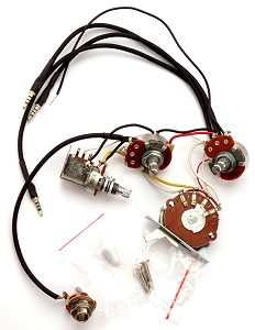 Kwikplug HSS Humbucker Coil Tap Switching Wiring Harness, Fits Strats®- PRE-SOLDERED Drop-In
