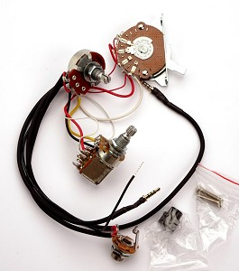 Kwikplug 2 HUMBUCKER COIL TAP Wiring Harness, Fits Tele®- PRE-SOLDERED Drop-In