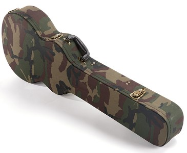 "Cloth ""WWII"" Camo Hard Shell Case for Les Paul,  XV-500, XV-700"