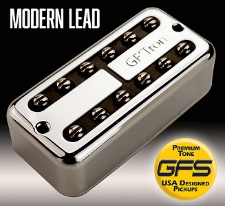 GF'Tron Modern Lead Chrome Hottest Alnico V Pickups fits Filter'Tron