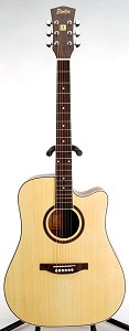 SPECIAL PURCHASE- Brand New Dreadnought Acoustic Cutaway-Natural Finish