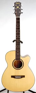 SPECIAL PURCHASE- Brand New Medium Jumbo Acoustic Cutaway-Natural Finish