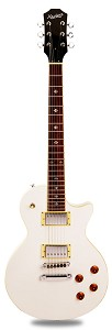 NEW! PRO500 Carved  Maple Top, Coil Tap Kwikplug Gloss White