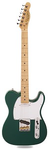 "PRO820 British Racing Green Solid Alder GFS ""Tele"" PIckups Maple"