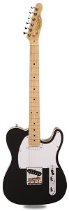 PRO840 Solid Alder, Binding, Gloss Black Kwikplug Equipped Maple