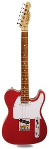 PRO840 Solid Alder, Binding, Candy Apple Red Kwikplug Equipped Rosewood